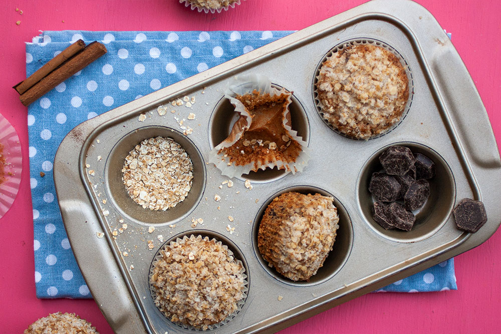 Espresso Chocolate Chip Muffins