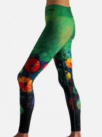 Alive Performance Tech Tights Green