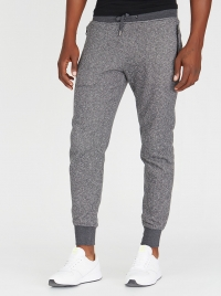 Brave Soul Jogger With Branded Metal Eyelets Grey Melange