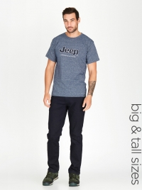 Jeep Applique Tshirt Blue