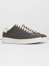 Mango Contrast Sole Sneakers Grey