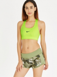 Nike Training Victory Compression Bra Light Green