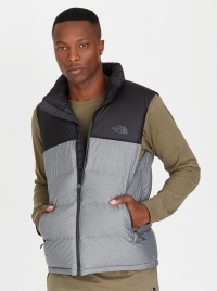 The North Face M Nuptse Vest Grey