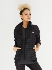 ThermoBall Hybrid Full Zip Jacket Black