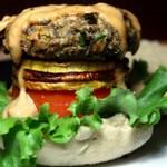 vegetarian butternut lentil burgers