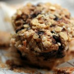 Muffins with espresso and chocolate chips