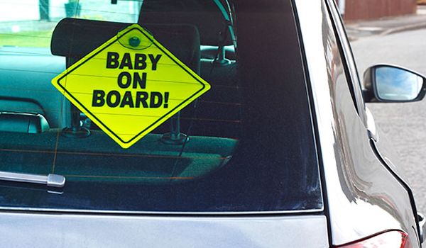 What That Baby on Board Sign Really Means