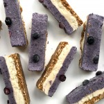 Raw Blueberry Lime Cream Slices