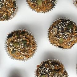 Gluten Free 1000 Seed Buckwheat Muffins