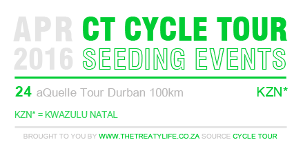 Cape Town Cycle Tour April 2016 Qualifiers and Seeding Events