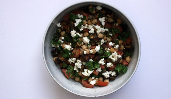 Chickpea and Za'atar Salad