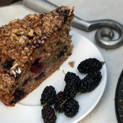 Mulberry Cake