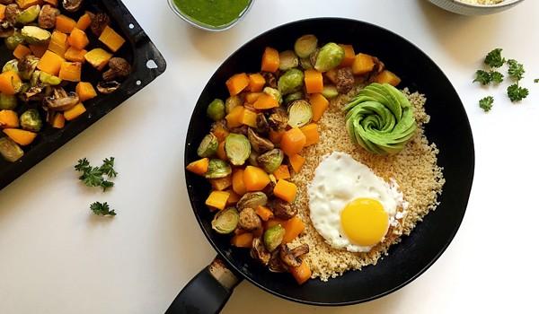 Nourishing Roasted Vegetable Bowl