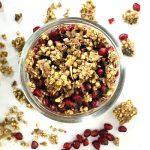 Herbivore Super Cereal - Cocoa coconut and pomegranate Chia Breakfast Parfaits