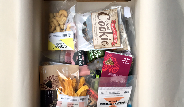 Win a box of healthy snacks from Good Snacks Subscription