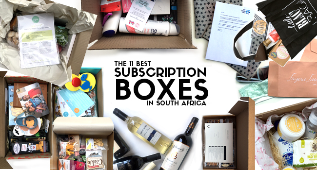 The 11 best subscription box services in south africa the best subscription box services in south africa reheart Choice Image