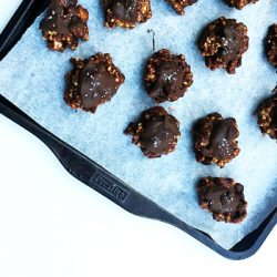 Almond Butter Chocolate Cereal Power Balls