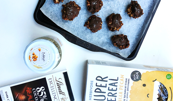 Herbivore Super Cereal - Almond Butter Chocolate Cereal Power Balls