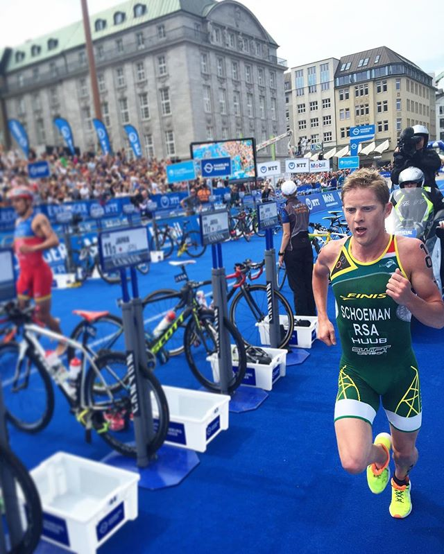 Henri Schoeman Born to be an Olympian