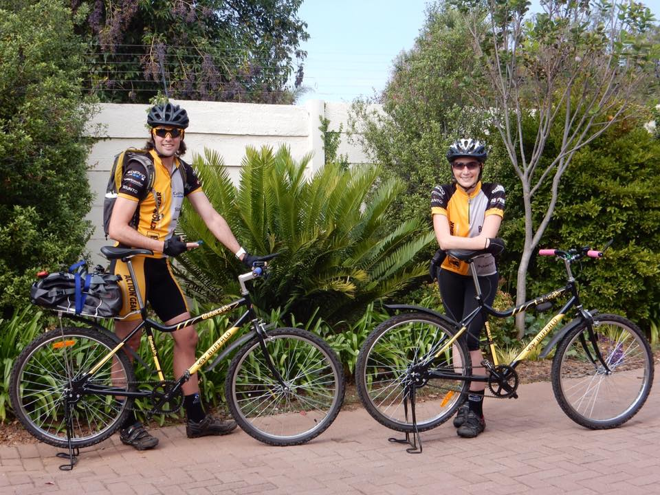 Joburg to Kili: 3 Guys, 1 Girl, 4 Qhubeka Bikes and a whole lotta road