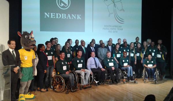 Team SA Paralympic Games 2016 Rio