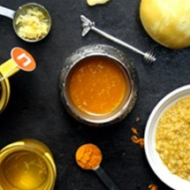 Turmeric and Ginger Infused Honey
