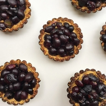 Peanut Butter Grape Tarts