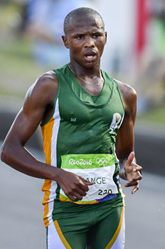 Lebogang Shange: From Township to Rio, how Race walking changed his life