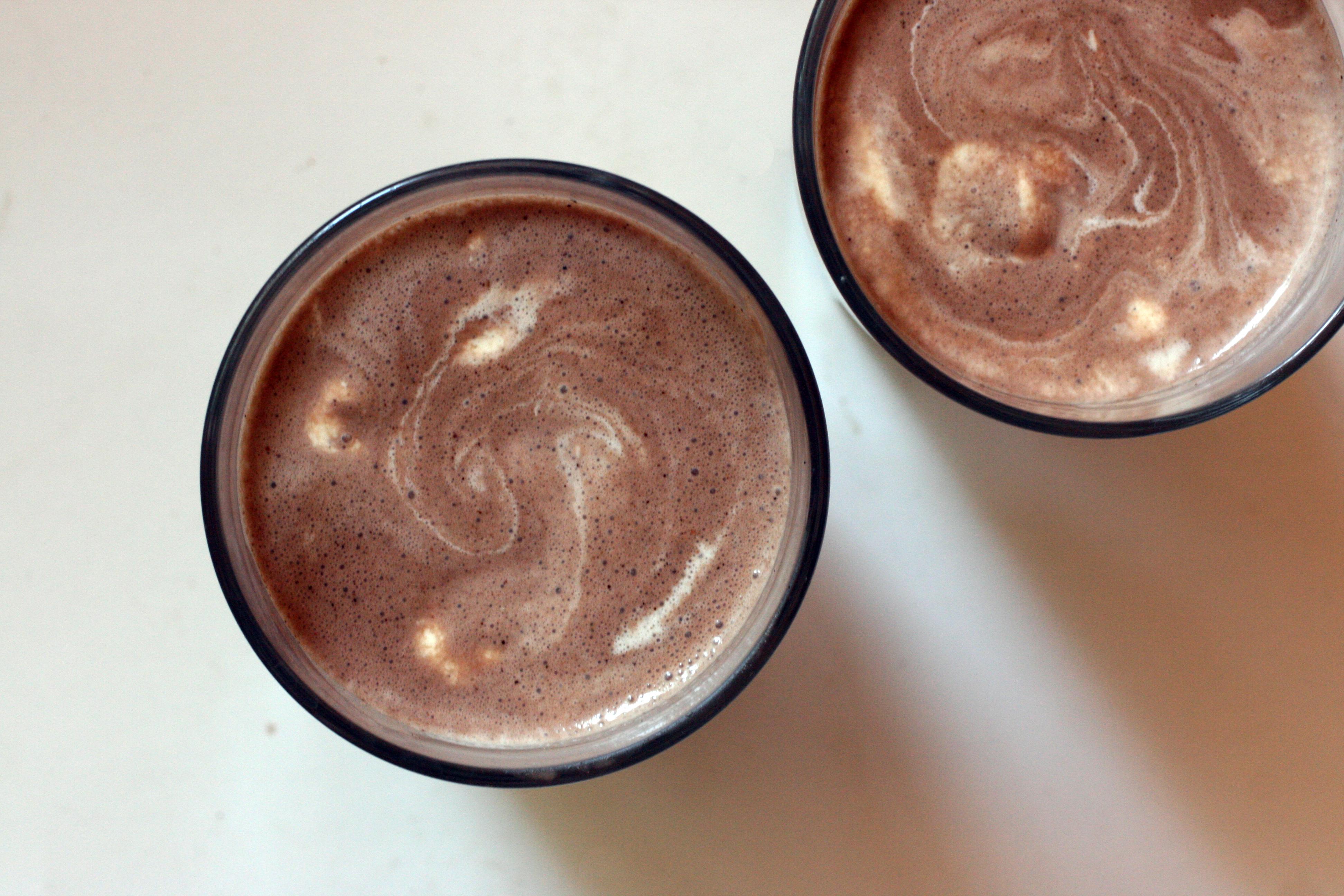 Chocolate Peanut Butter Protein Milkshake