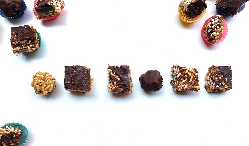 Make Your Own Healthier Rice Crispy Treats