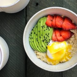 Protein Boosted Savoury Oats