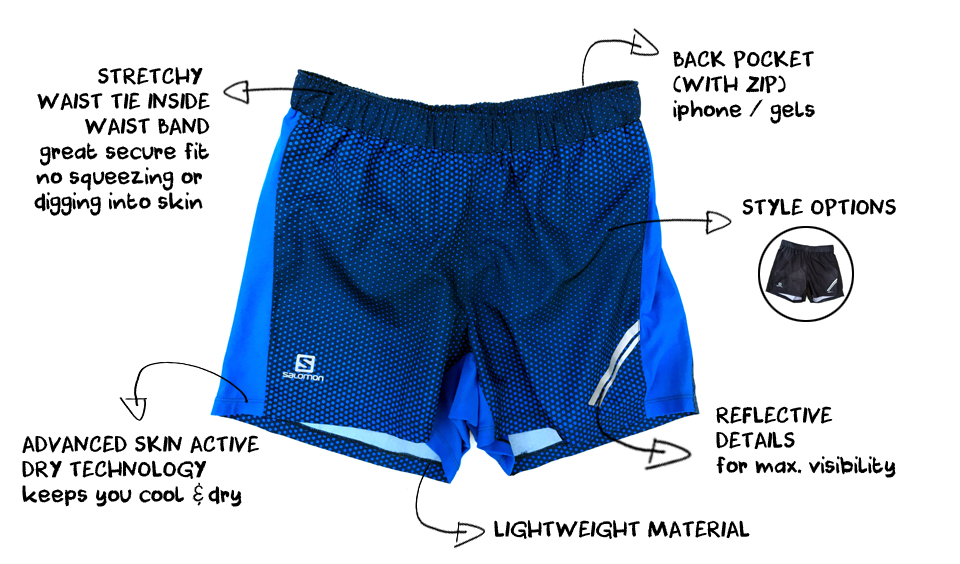 The Best Running Shorts for Men this Summer - salomon agile men's running short
