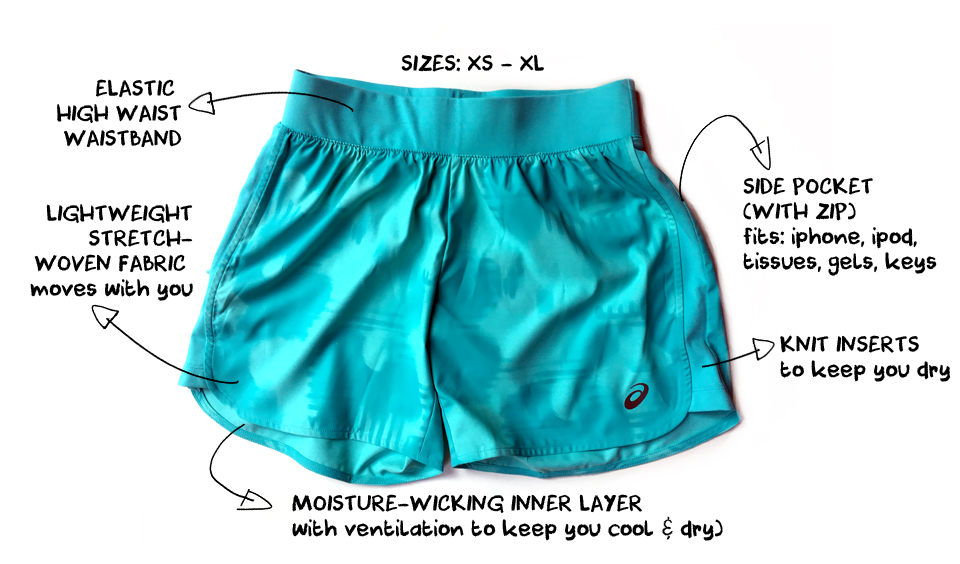 The Best Running Shorts for Women this Summer - Asics Fuze X