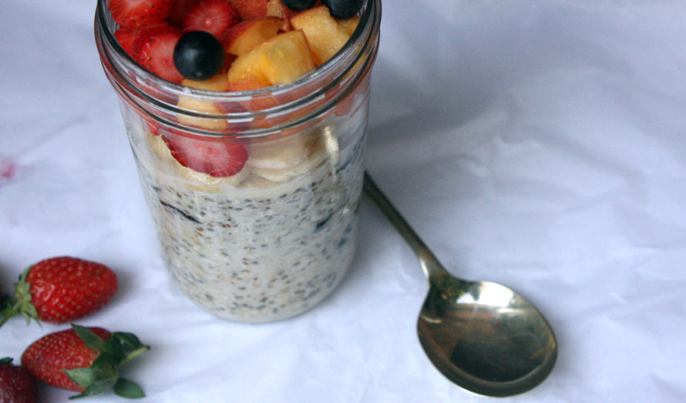 Blueberry Overnight Oats