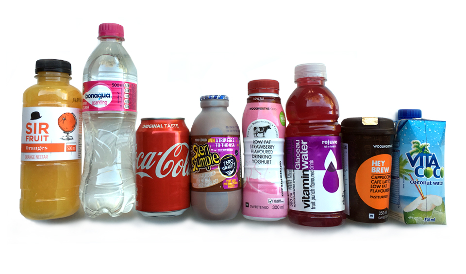 How much sugar is in your favourite drinks?