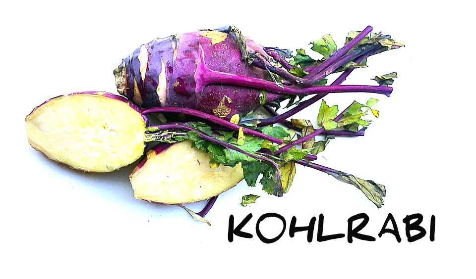 Weird Vegetables: What they are and How to Eat them - Kohlrabi