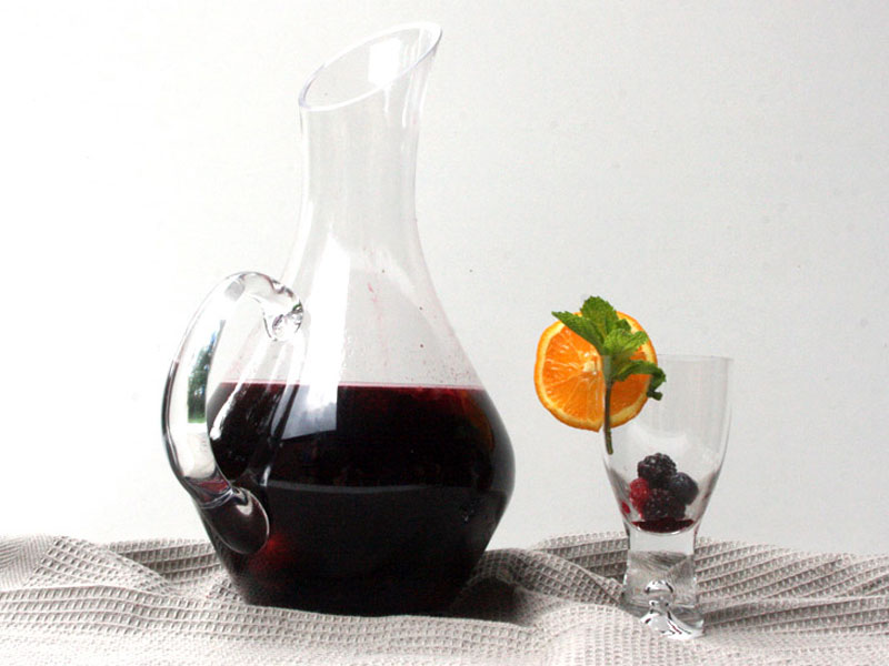 Mixed Berry Red Wine Sangria