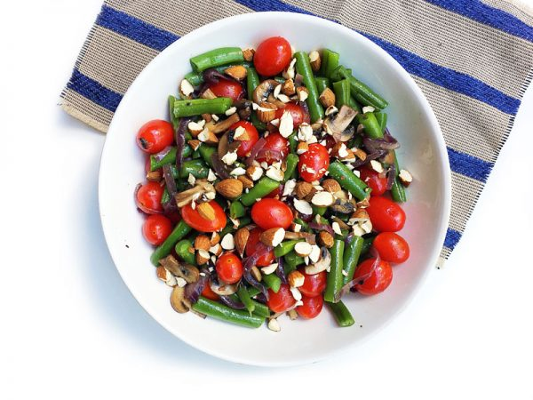 Green Bean and Cherry Tomato Salad