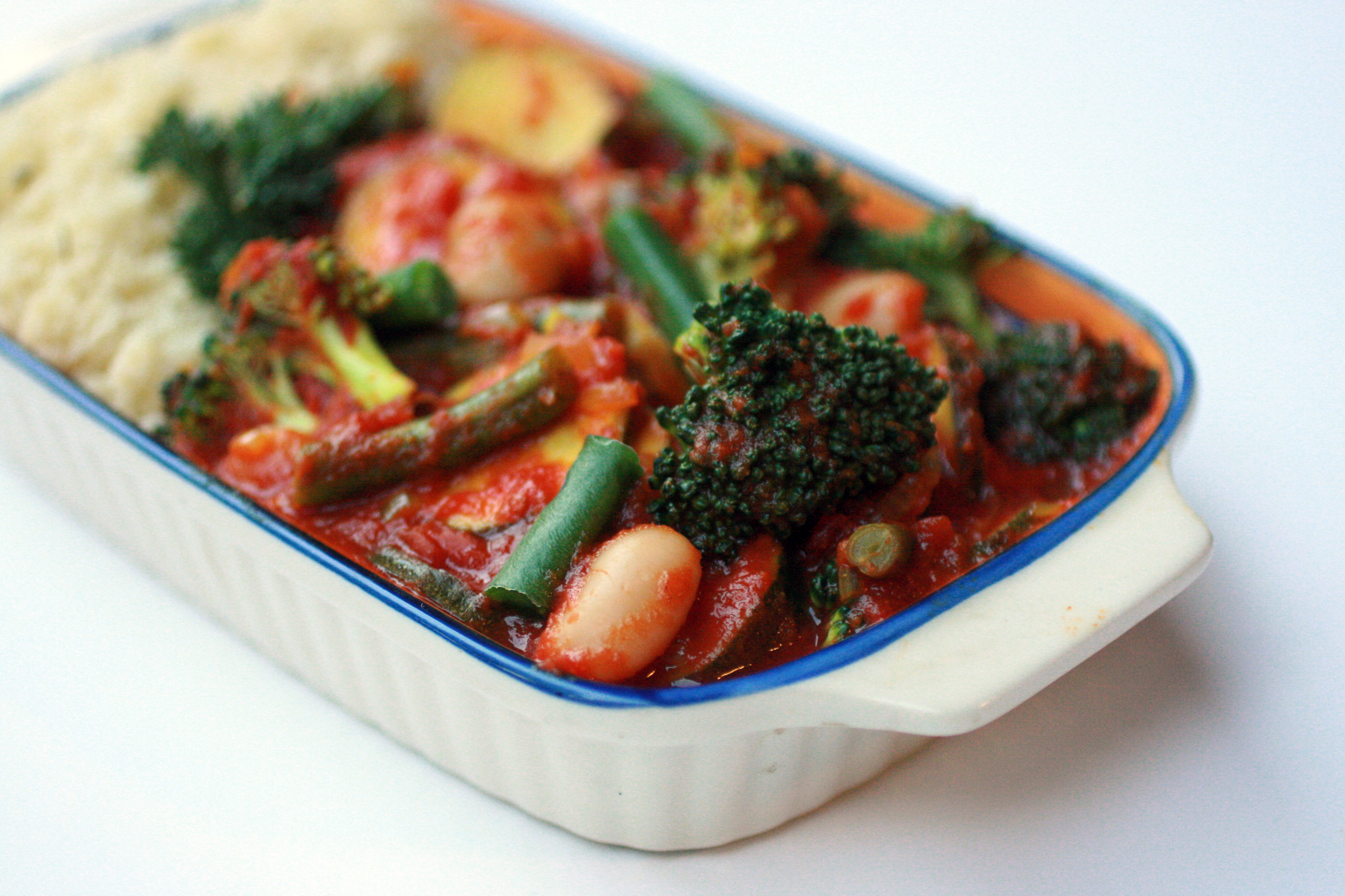 Warming Vegetable Curry Bowl