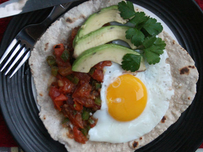 Hot and Spicy Recipes - Breakfast Tacos
