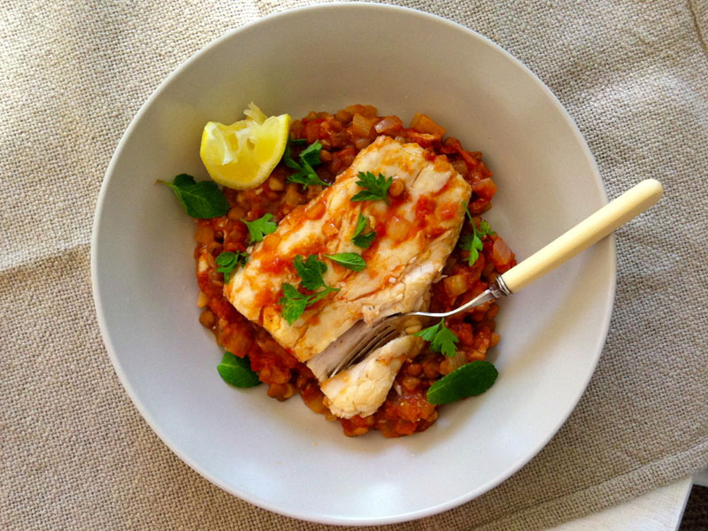 Hot and Spicy Recipes - Harrissa Fish