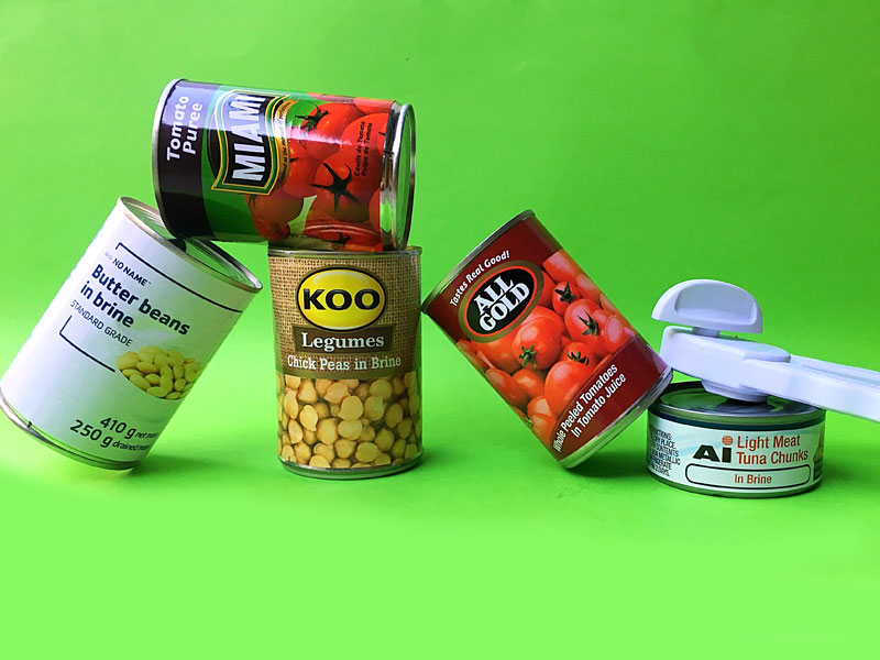 5 Tin Canned Foods to always have in your pantry