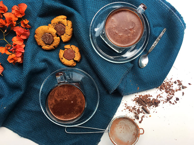 Maca Powder Hot Chocolate