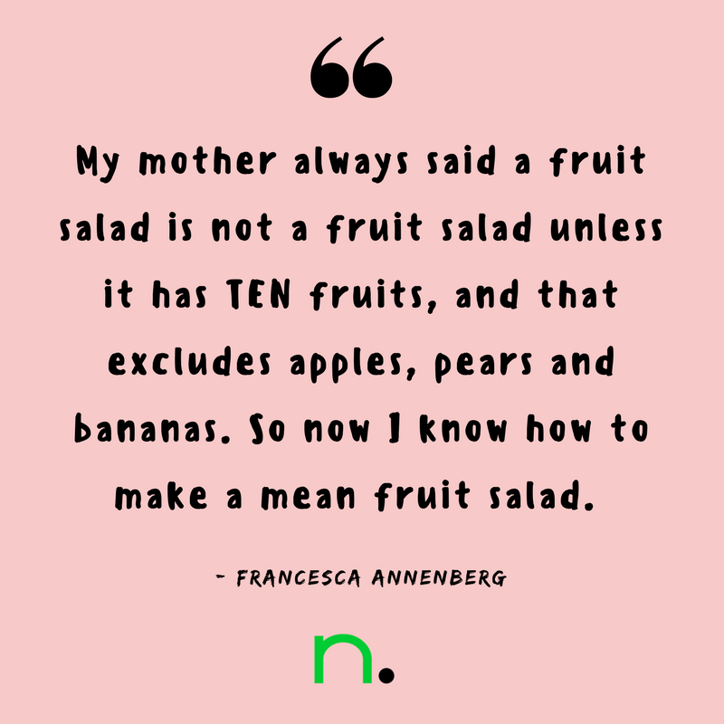 My Mother's Best Recipe - Francesca Annenberg