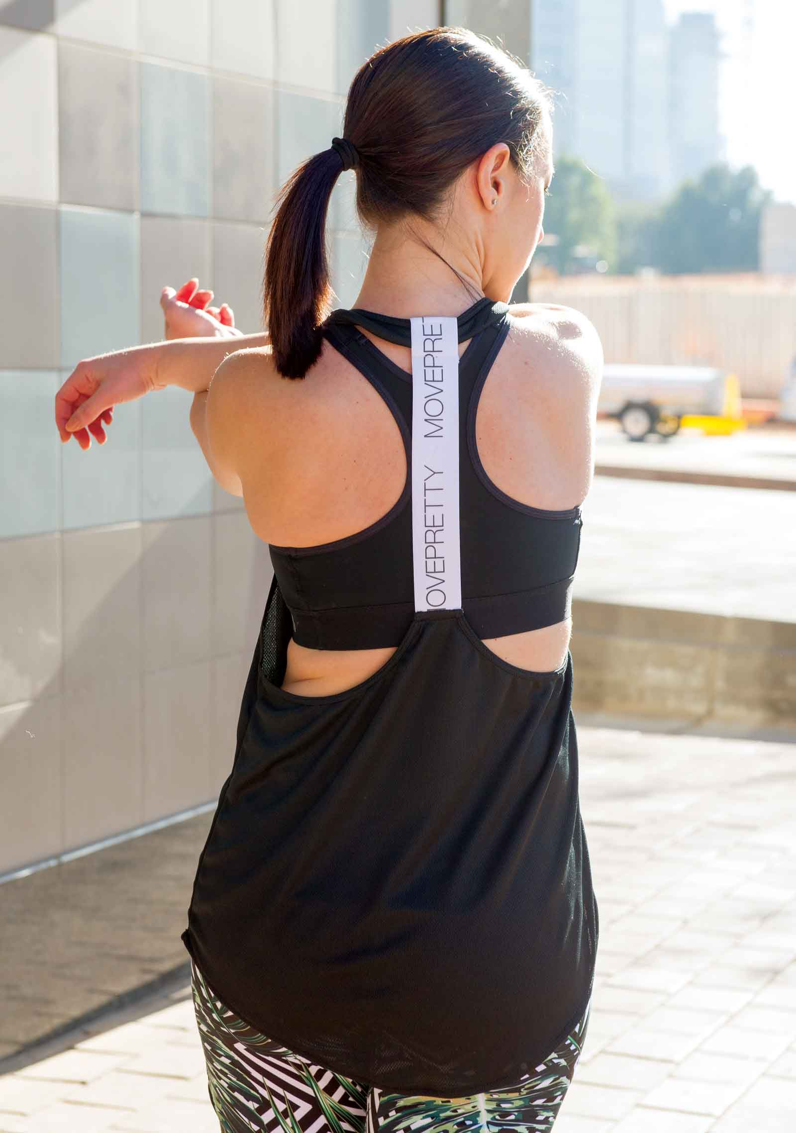 The 6 Biggest Active Wear Trends of 2017 - Move Pretty Elastic Tank