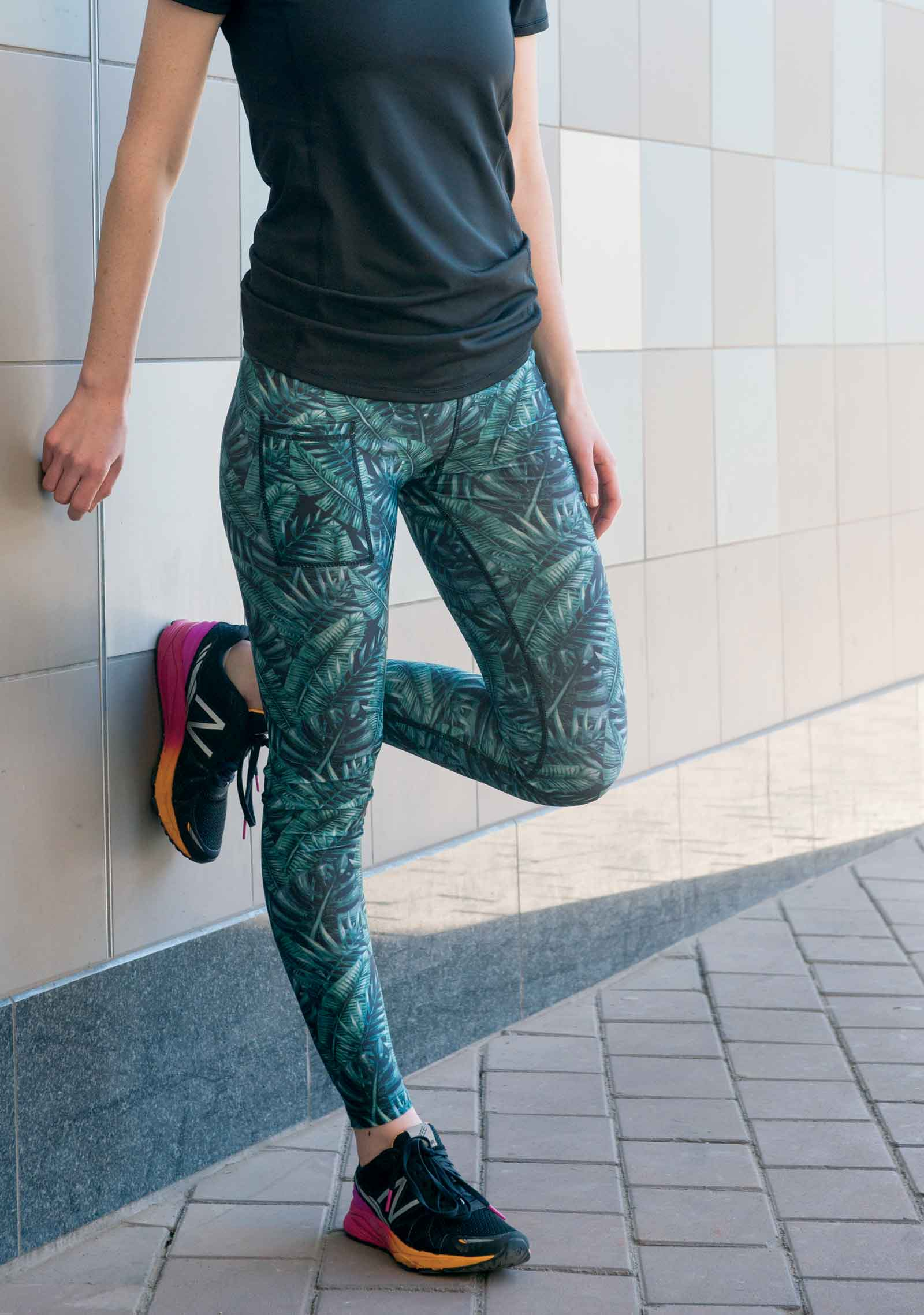The 6 Biggest Active Wear Trends of 2017 - Rain Forest Leggings