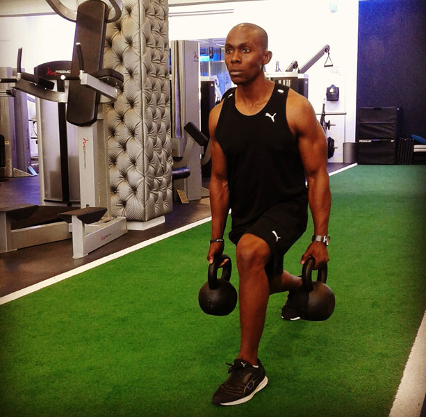 6 Personal Trainers share their Best Exercise Move - Thobela Sitokwe