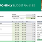 July Budget Shopping Guide - Budget Planner
