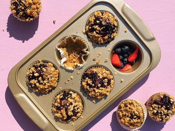 Berry Breakfast Muffins