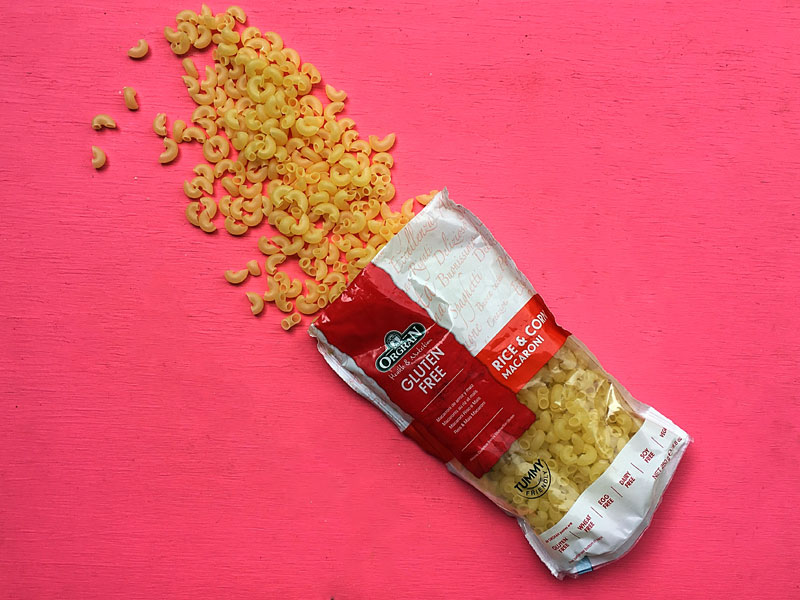 Your Guide to Gluten Free Pastas - Orgran Rice and Corn Pasta